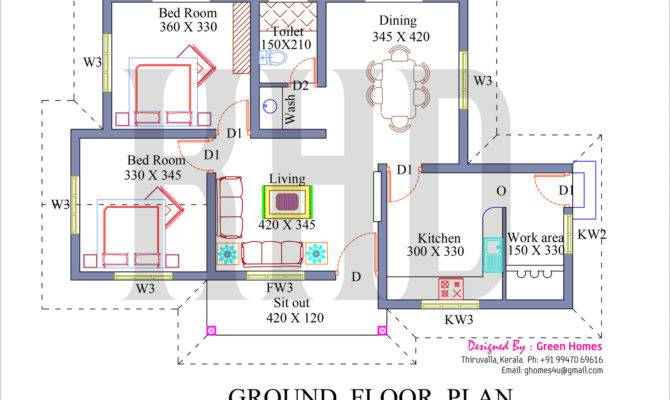 Bedroom House Floor Plan Models Model Plans