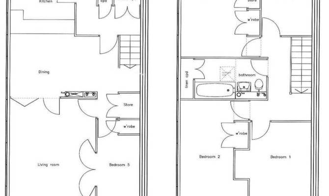 Bedroom House Floor Plan