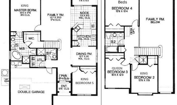 Bedroom House Floor Plans