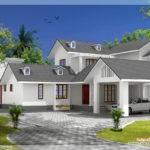 Bedroom House Gable Roof Type Design Kerala Home