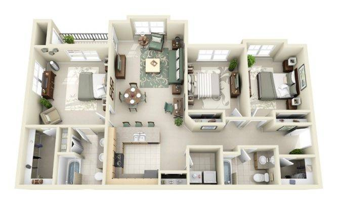 Bedroom House Layouts