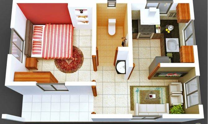 Bedroom House Plan Indian Style Modern