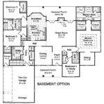 Bedroom House Plans Basement Smalltowndjs