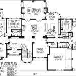 Bedroom House Plans Blueprints Luxury