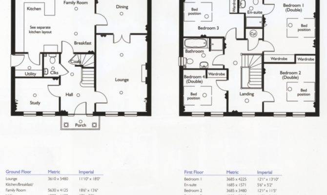 Bedroom House Plans Design Decoration Also
