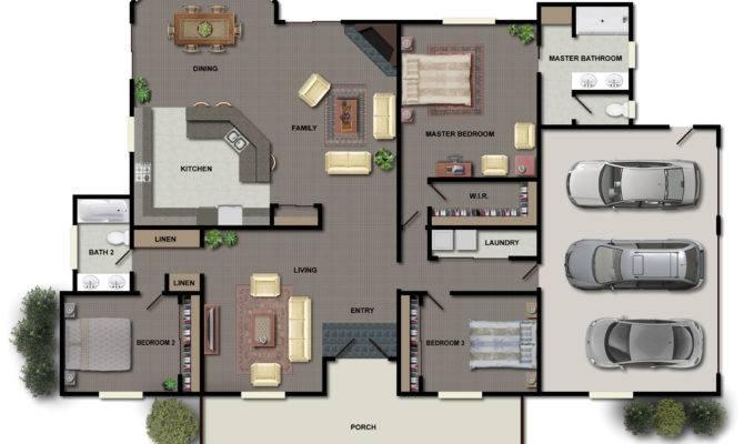 Bedroom House Plans Ideas