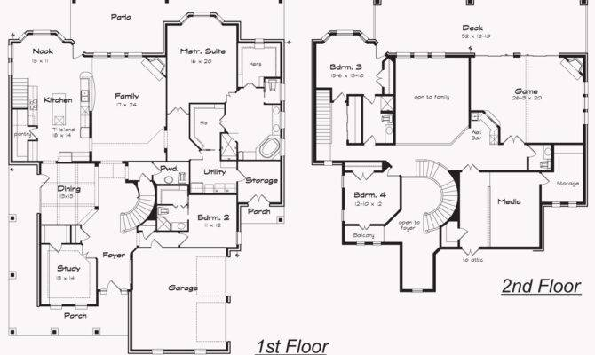 Bedroom House Plans Indoor Balcony
