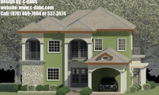 Bedroom House Plans Jamaica Savae