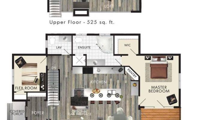 Bedroom House Plans Loft