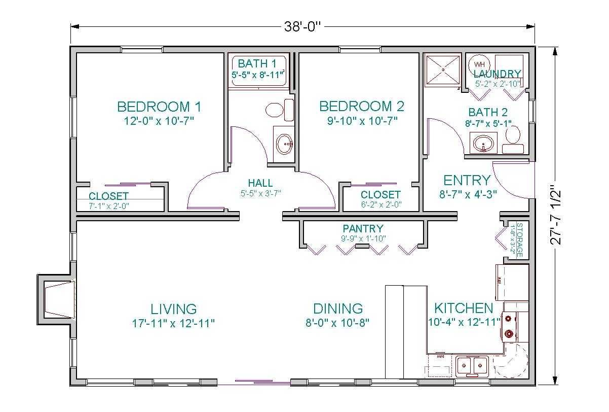 Bedroom House Plans Open Floor Plan Charming - House Plans ...