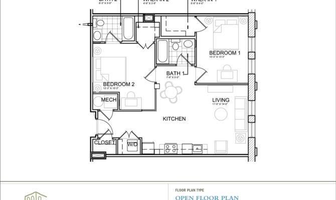 Bedroom House Plans Open Floor Plan Photos Video