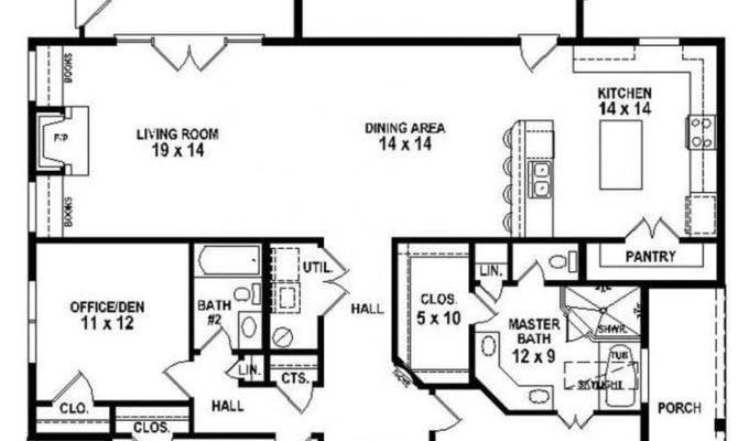 Bedroom House Plans Porches