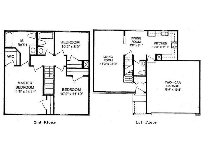 Stunning Two Story Building Plan Ideas House Plans