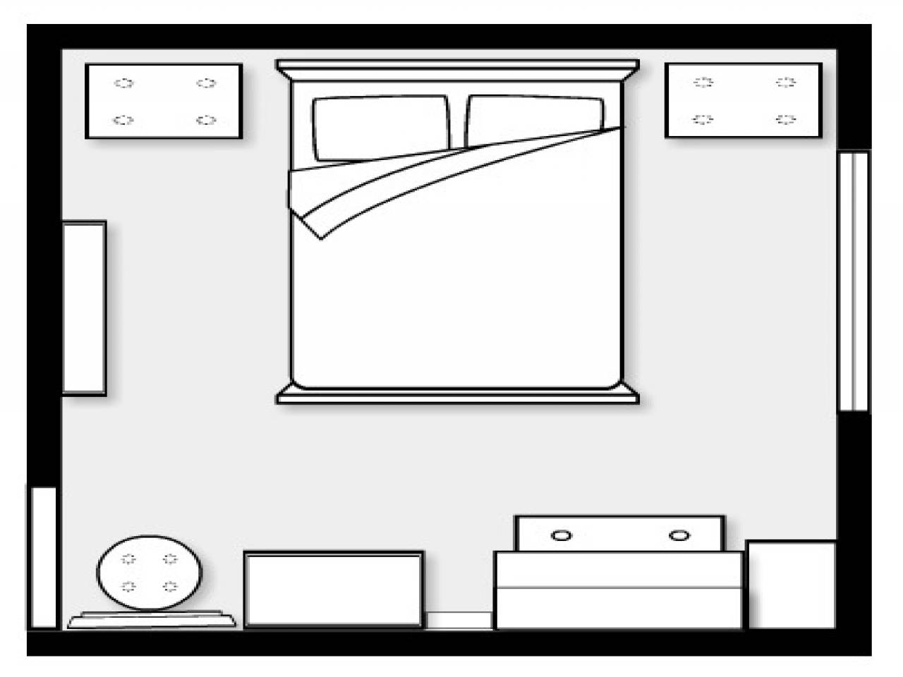 Bedroom Layout Planner Room Design