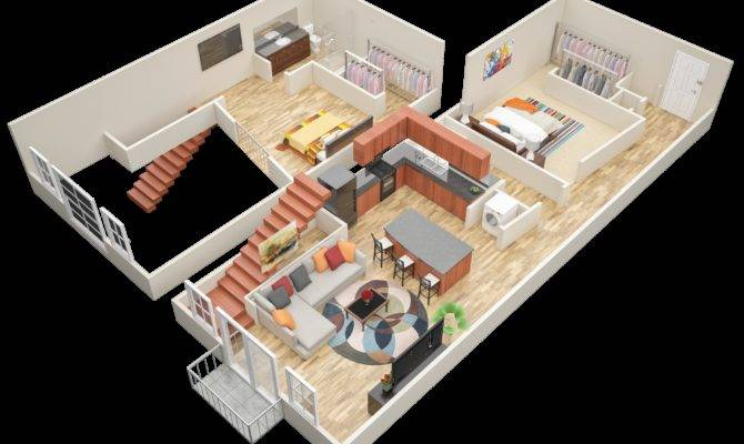 Bedroom Loft Apartments Atlanta Mariposa Lofts