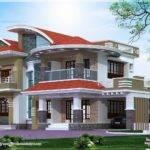 Bedroom Luxury House Kasaragod Indian Plans