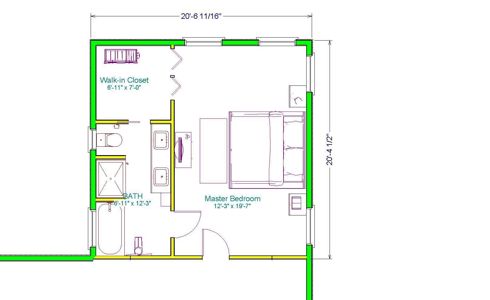 Bedroom Master Floor Plan Addition Plans House Plans 79870