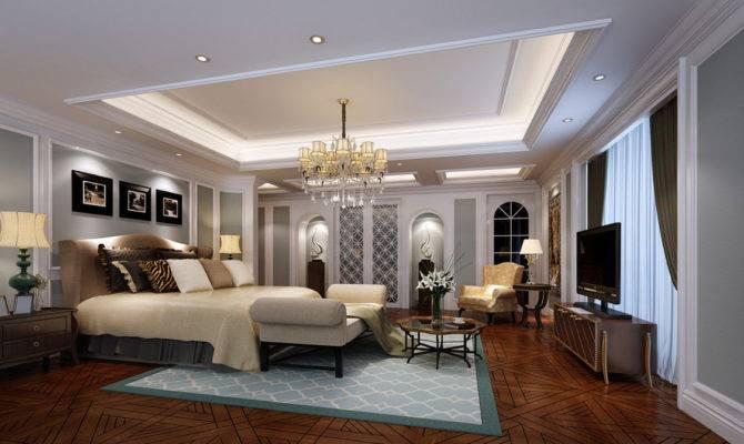 Bedroom Mediterranean Style White Interior