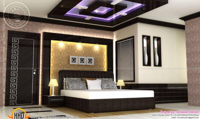 Bedroom Modern House Plans Home Interiors Indian