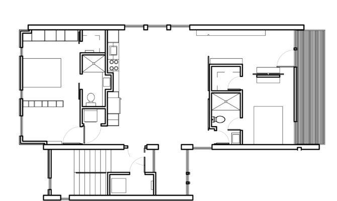 Bedroom Modern House Plans Jessica Nilsson