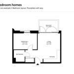 Bedroom Modular Home Floor Plans Cottage House