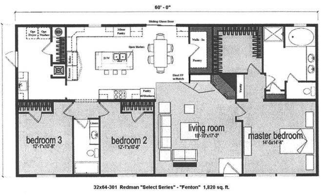 Bedroom Modular Home Floor Plans