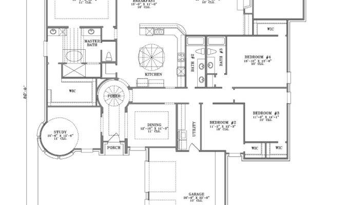 Bedroom One Story House Plans Marceladick