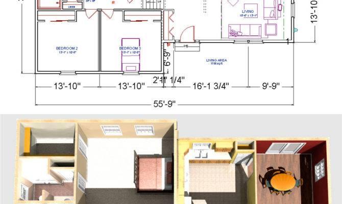 Bedroom Raised Ranch Floor Plans Dover Modular