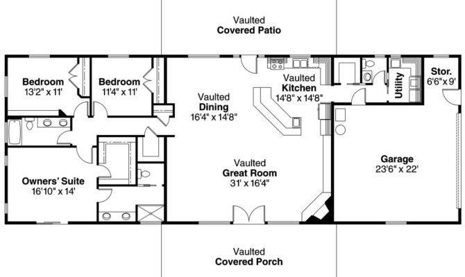 Bedroom Ranch House Floor Plans Ottawa
