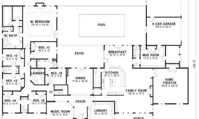 Bedroom Ranch House Plans New Best
