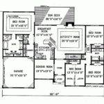 Bedroom Ranch House Plans Pinterest