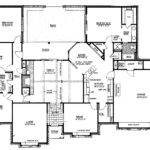 Bedroom Ranch Style Floor Plans Four House Along