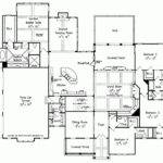 Bedroom Ranch Style Floor Plans House