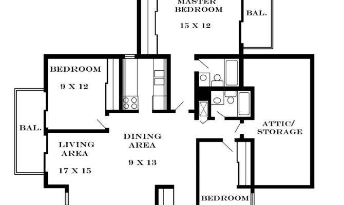 Bedroom Simple Floor Plan Talentneeds