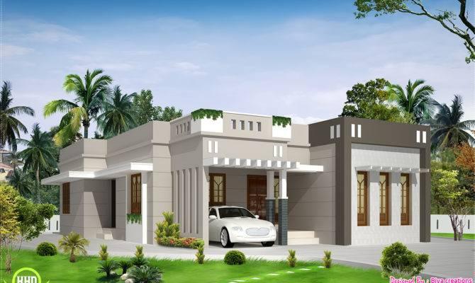 Bedroom Single Storey Budget House Kerala Design