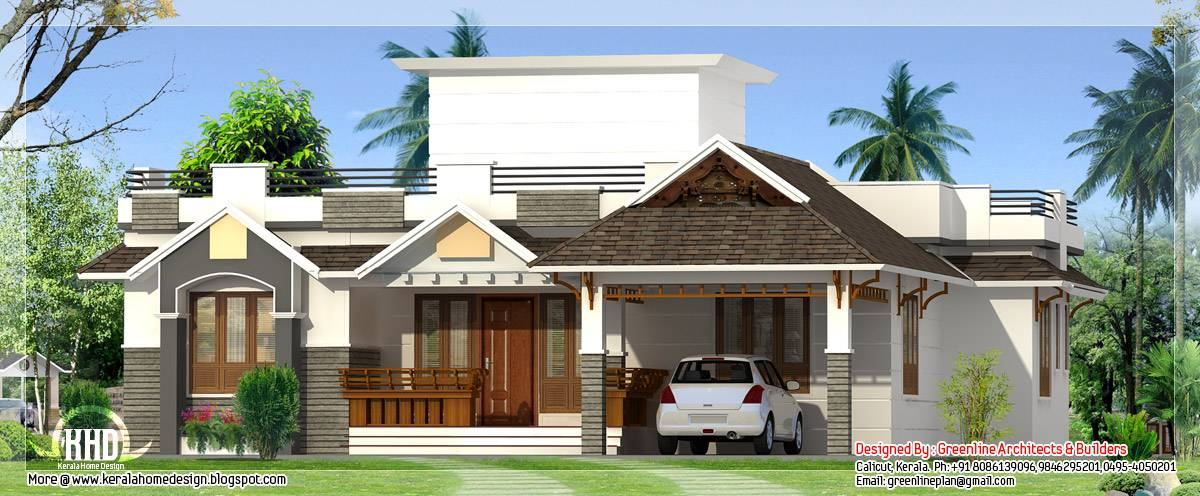 22 Pictures One Storey House Designs House Plans
