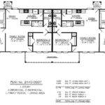 Bedroom Single Story Duplex House Plans Joy Studio