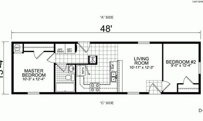 21 Best Simple 1 Bedroom Mobile Homes Floor Plans Ideas ...