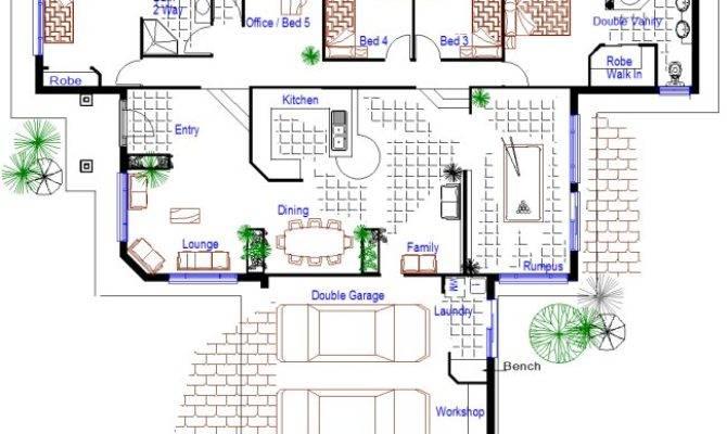 Bedroom Sloping Land Split Level Kit Home Design