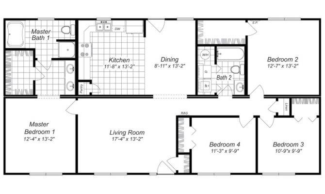 Bedroom Small House Plans Homes Floor