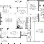 Bedroom Split Layout Enjoys Center Living Space