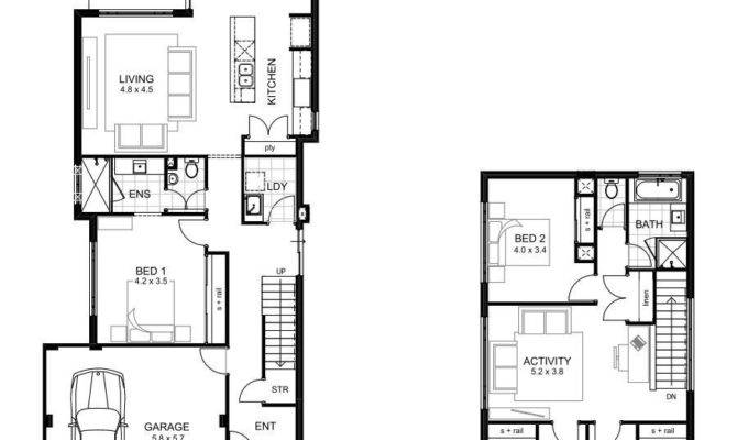 Bedroom Storey House Plans Best Double