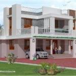 Bedroom Story House Exterior Design Home Kerala Plans