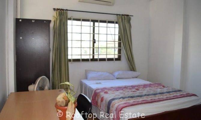 Bedroom Studio Apartment Rent Daun Penh
