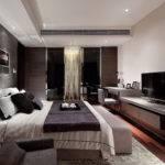 Bedroom Suite Gorgeous Waterfall Chandelier Hangs