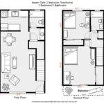 Bedroom Townhouse Floor Plans Pixshark