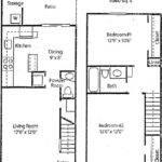Bedroom Townhouse Floor Plans Redglobalmx