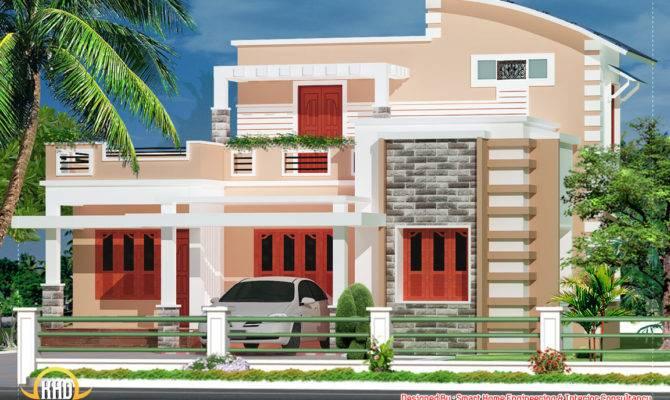Bedroom Villa Kerala Home Design Floor Plans
