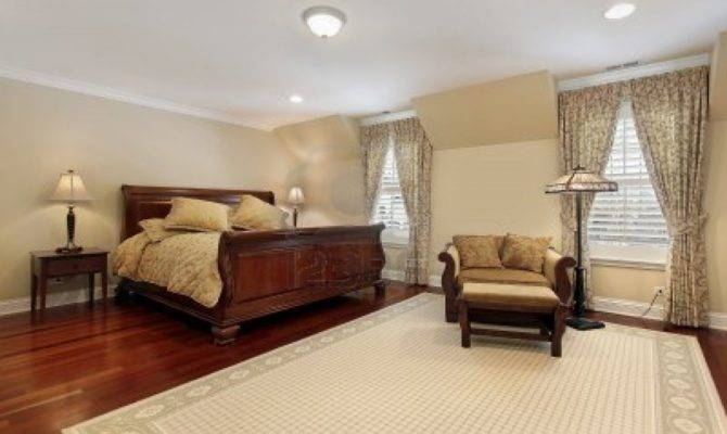 Bedroom Wood Floor Master Decorating