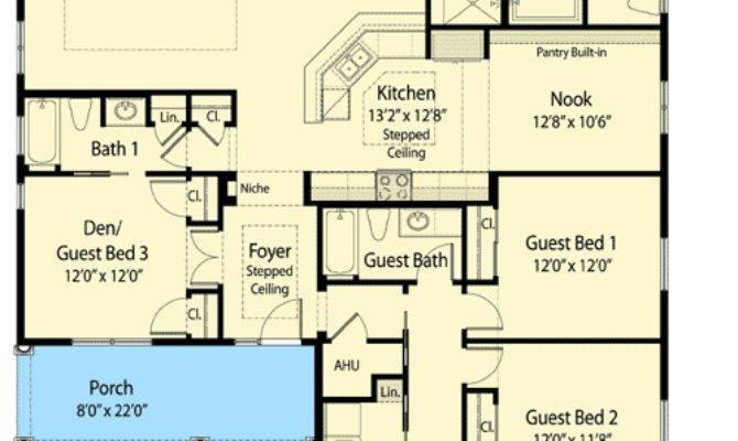Bedroom Zero Ready Home Plan
